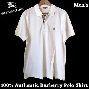 ❣️SALE! 100% Authentic Mens Burberry Polo Shirt